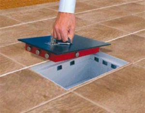 cassaforte a pavimento